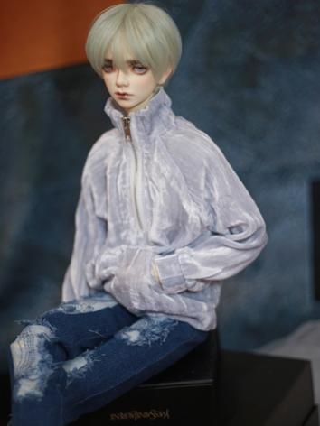 BJD Clothes Blue/Wine/Green Hoodie A354 for MSD/SD/70cm Size Ball-jointed Doll