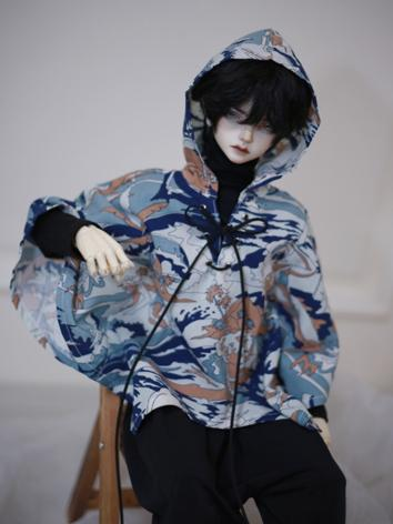 BJD Clothes Cloak/Coat A355 for MSD/SD/70cm Size Ball-jointed Doll