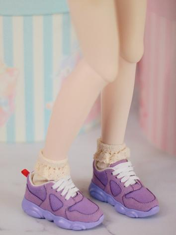 BJD Shoes Girl/Boy Pink/Pur...