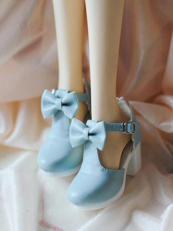 BJD 1/3 1/4 Shoes Girl Blue...