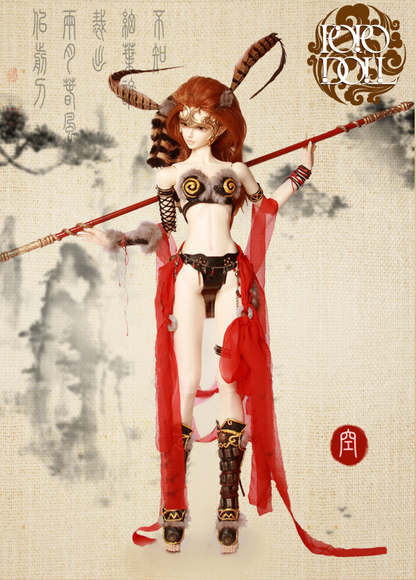 BJD Kong Girl 68cm Ball-jointed doll