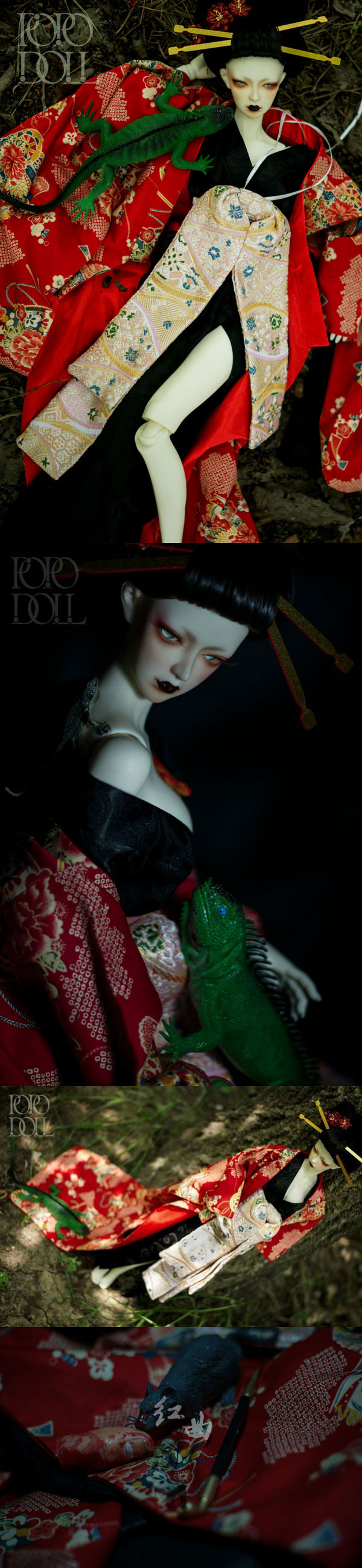 BJD Hongqu Girl 60cm Ball-jointed doll