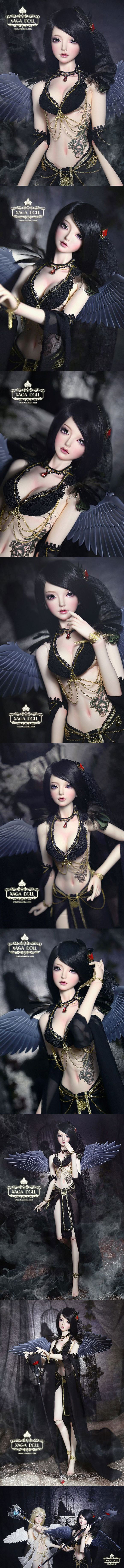 Pin on Resin ball jointed dolls